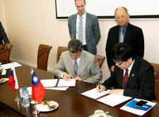 RSF and the Ministry of Science and Technology of Taiwan signed a cooperation agreement